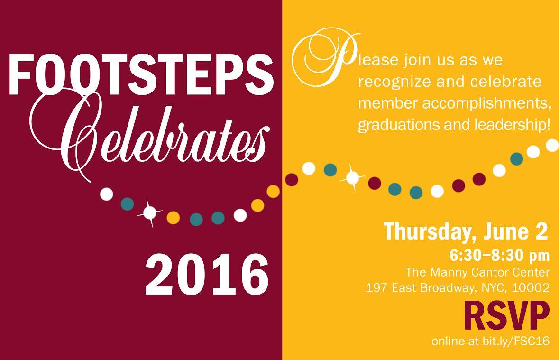 Footsteps Celebrates 2016